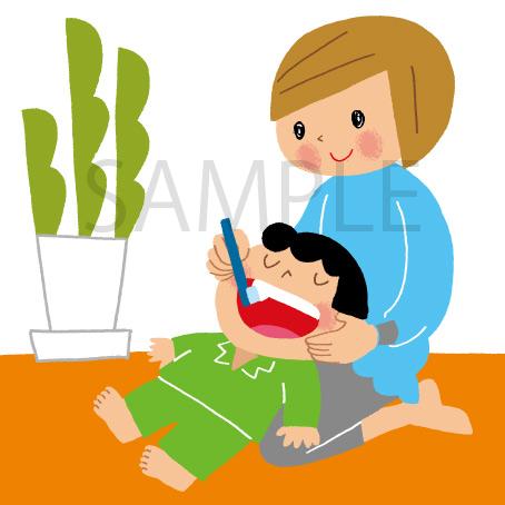 歯みがき 子ども イラスト
