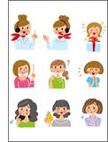 様々な年代の女性